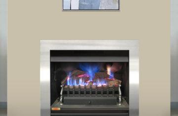 Ironbark Log Gas Burner