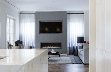 Elegant Drawingroom Gas Fireplaces