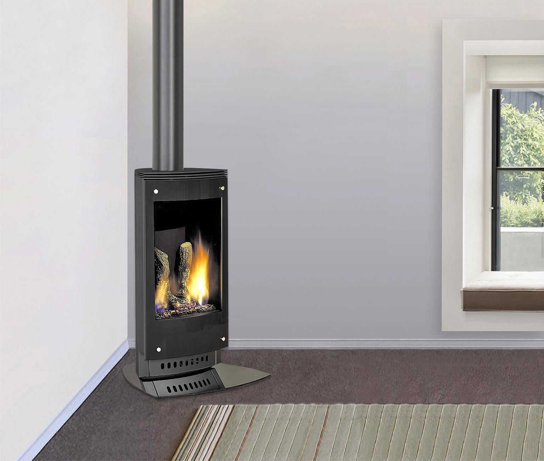 Freestanding Fireplace Design