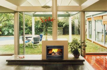 Universal Freestanding Wood Fireplace Wood Burning