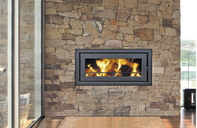 Kemlan C900 Fireplace Insert Gas Wood Burning