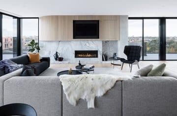 Mezzo 1300 In a living room