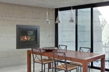 Modern Style Fireplace