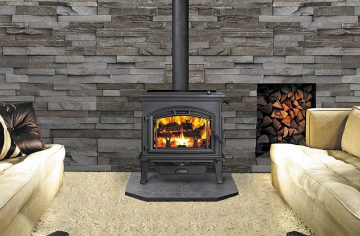 Slow Combustion Wood Fireplaces